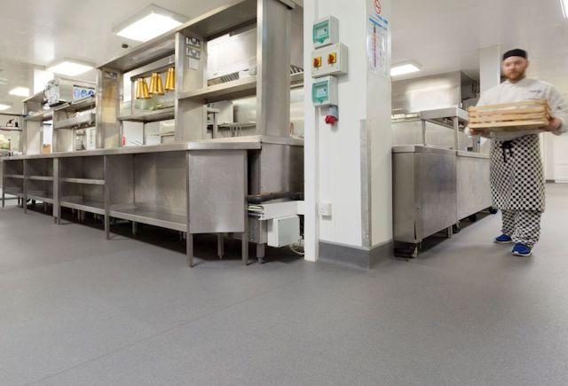 Radisson Blu Athlone Hotel Kitchen Case Study Polyflor