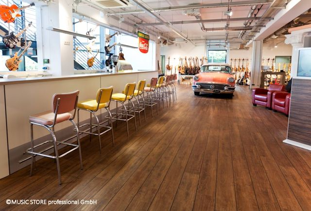 The Music Store Case Study Polyflor